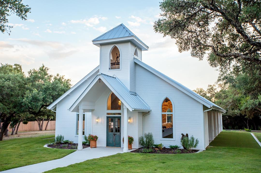 5 Dreamy Texas Wedding Chapels to Take Your Vows In