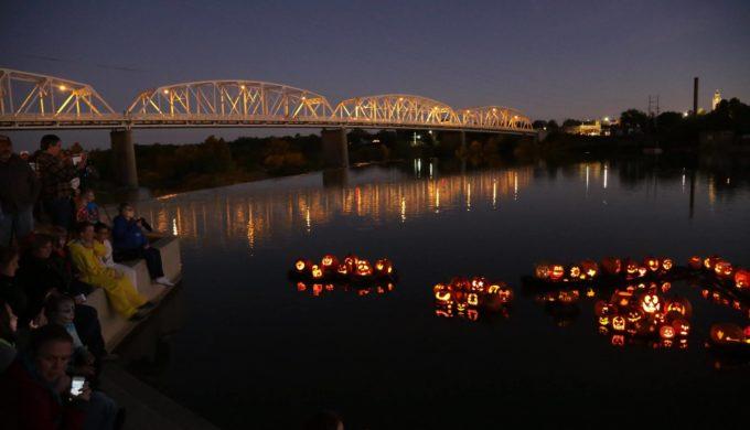 Spook-tacular Fall Family Fun! The Llano River Pumpkin Float