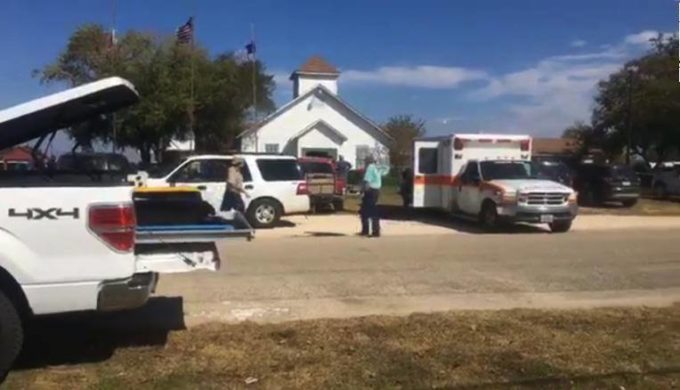 Multiple Casualties Reported Following Texas Church Shooting