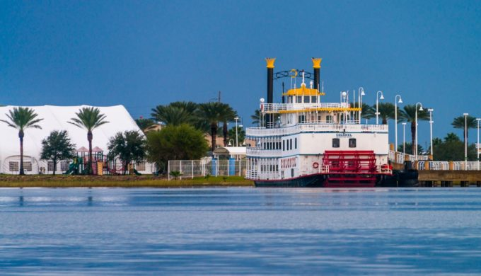 Tour Texas Coastal Waters in Style Aboard an Old-Fashioned Paddle Boat Cruise