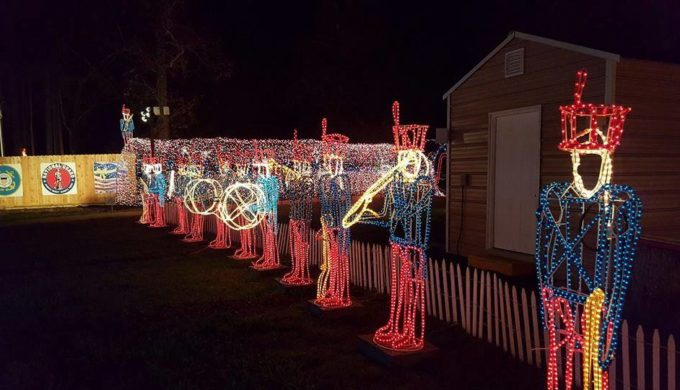 Dickinson Festival of Lights Goes Off Without a Hitch Following Harvey