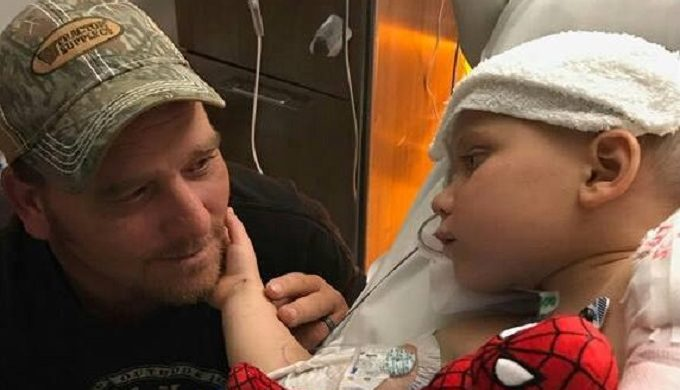 6-Year-Old Ryland Ward Goes Home From Hospital in Fine Style