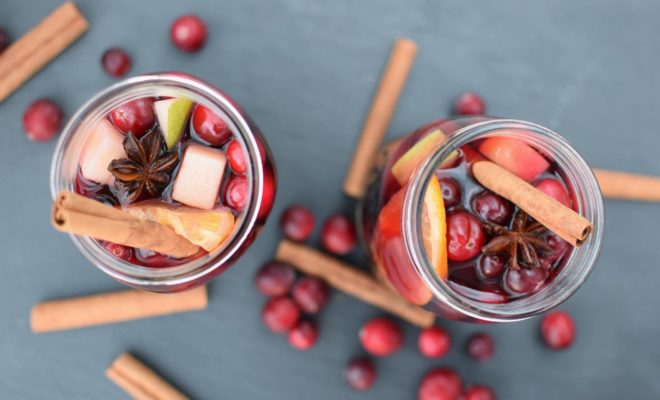 Sangria With a Texas Twist for Toasting to the Holidays