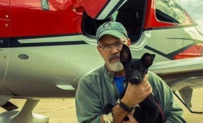 Dog Rescue Pilot Believed to Have Suffered Lack of Oxygen in Flight