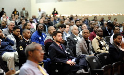 Nearly 600 Men Show Up for Dallas School's 'Breakfast with Dads' Event