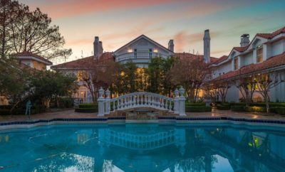 Gorgeous Texas-Sized Mansion Speaks of Lone Star State Luxury & Opulence