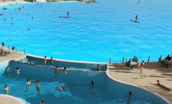 First Texas Crystal Clear Lagoon Takes Shape in Humble in Planned