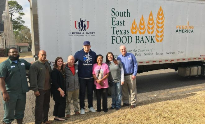 Southeast Texas Food Bank Receives Over $2M Through JJ Watt Foundation