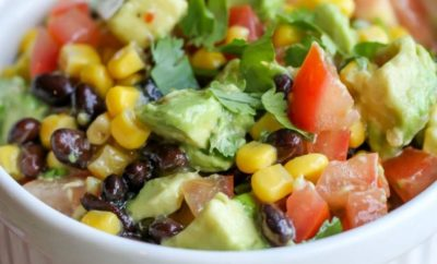 Black Bean and Corn Salad – The Stuff that Summer Potluck Dreams are Made Of