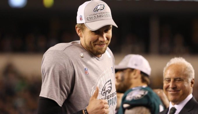 'Nick Foles Day' Was February 9 and Matthew McConaughey is a Big Fan