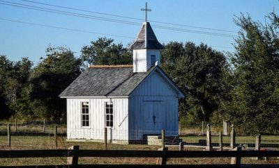 Texas is Home to the World's Smallest Catholic Church and It's Open to Visitors