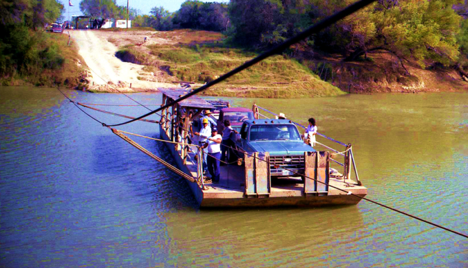 Los Ebanos Ferry: A Trip Across the Rio Grande and Back in Time