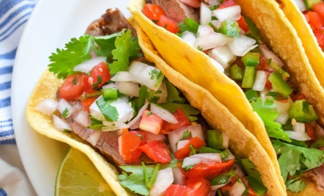 Steak Tacos and Tangy Salsa Spell Delicious With a Capital D