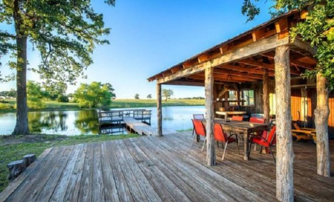 Even Tiny Homes are Bigger in Texas! Say Hello to the 'Cowboy Cabin'