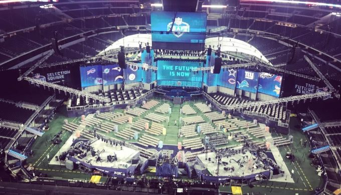 2018 NFL Draft Happening Now in Arlington: Fans Receive Enhanced Experience