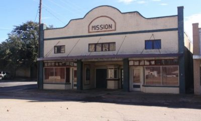 Mission Theatre in Menard Undergoing Long-Awaited Restoration