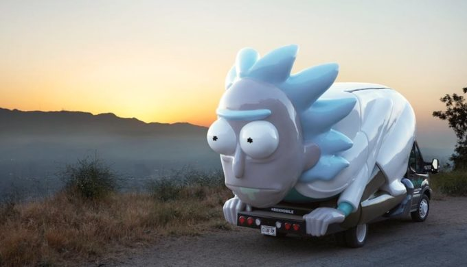 Wubba Lubba Dub Dub! RickMobile is Moving Down Texas Highways