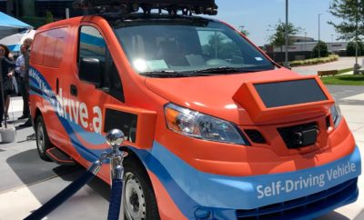 Self-Driving Shuttles Hitting the Streets of Frisco as a Texas First