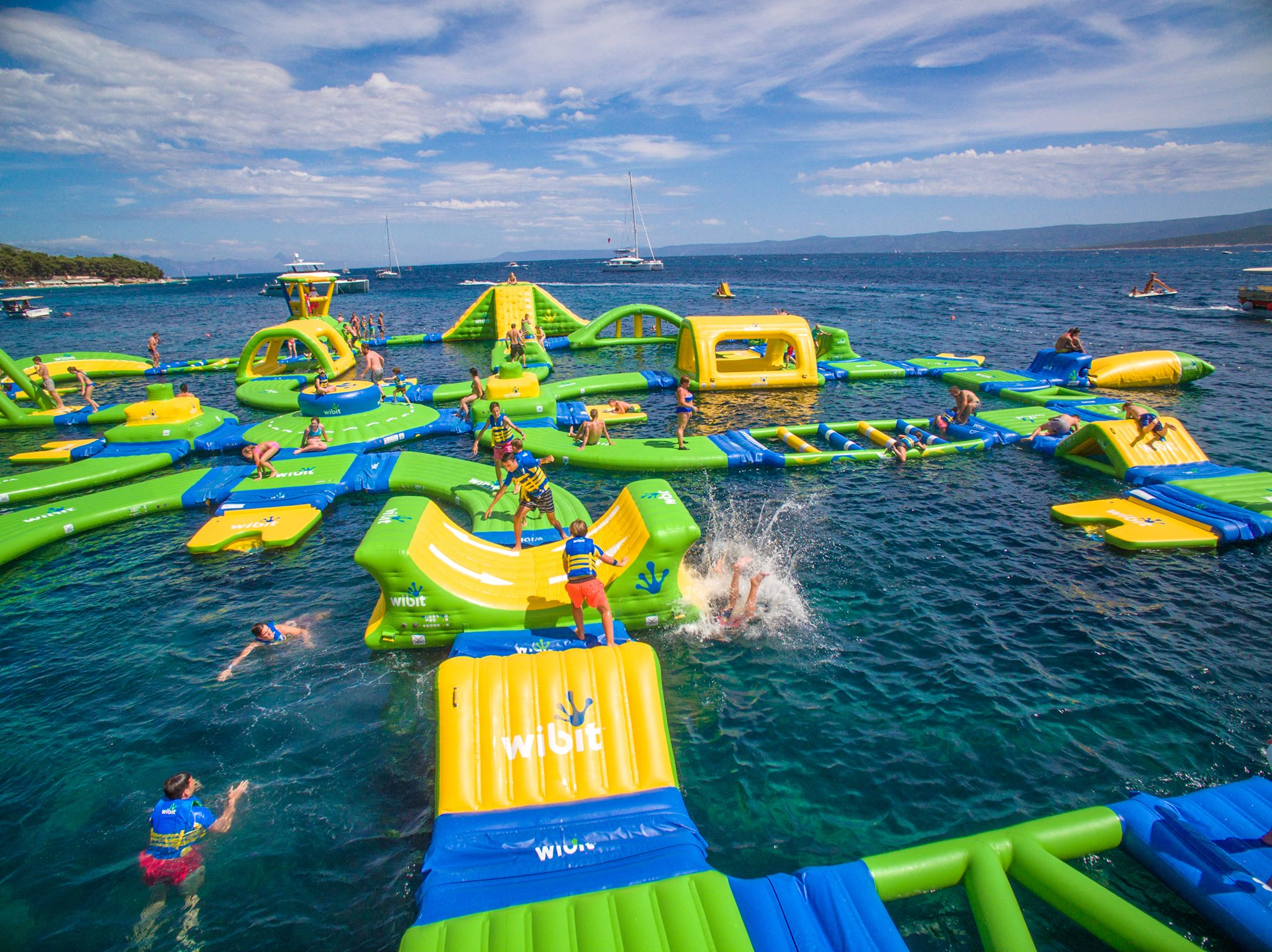 Floating Water Park Scheduled to Open on Grapevine Lake