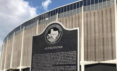 Houston Astrodome Receives Official Texas Historical Landmark Designation