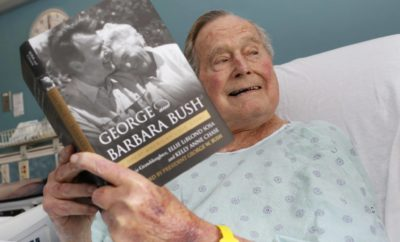 George H.W. Bush Becomes First Former U.S. President to Turn 94