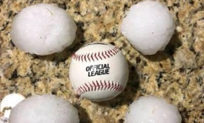 Baseball-Sized Hail Hits North Texas Leaving a Large Path of Damage