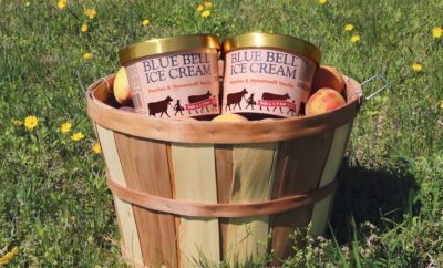 Blue Bell Releases Peaches and Homemade Vanilla Ice Cream At Prime Time
