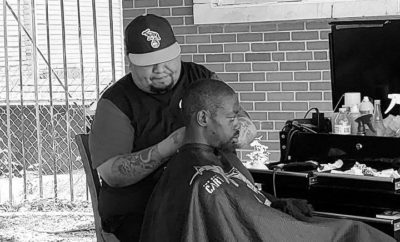 Lubbock Barber Gives Free Haircuts to Homeless to Help Beat the Heat
