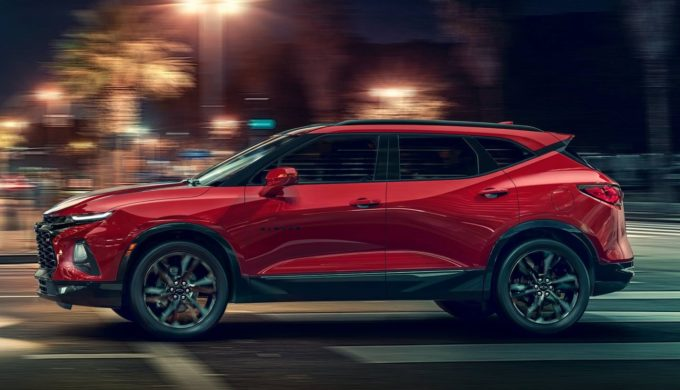 Revised 2019 Chevy Blazer Model is Taking Design Queues From the Camaro