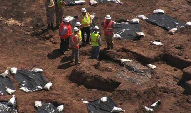 Remains of 95 People Found at Texas Construction Site: Historic Cemetery Unearthed