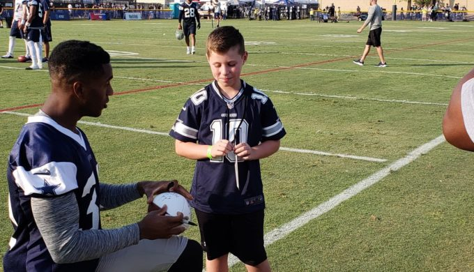 Son of Fallen Texas Officer Gets the Gift of a Lifetime from the Dallas Cowboys