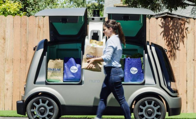 Kroger & Nuro Launching Driverless Grocery Delivery in Houston