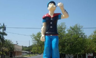 Popeye and Crystal City Texas