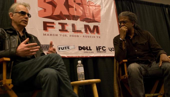 Billy Bob Thornton speaking at 2008 SXSW panel