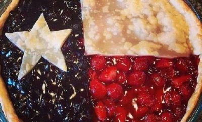 Truly Sweet State Pride: Texas Flag Pie Made With Love