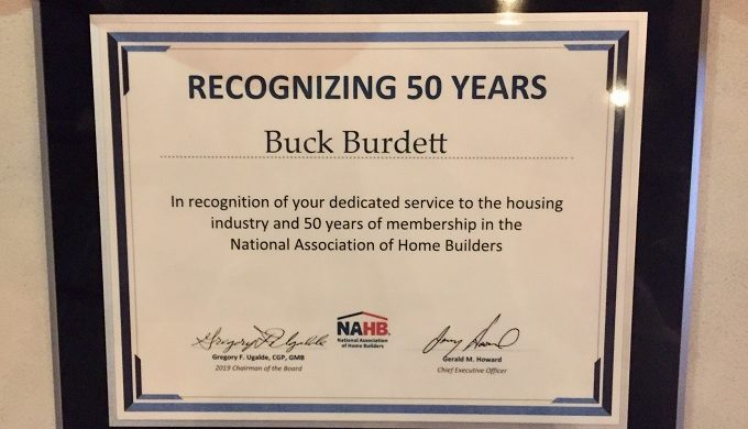Texas Hill Country Home Builder Recognized for 50-Year Career
