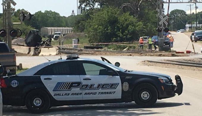 Train and Dump Truck Collision Leaves 2 dead in Fort Worth