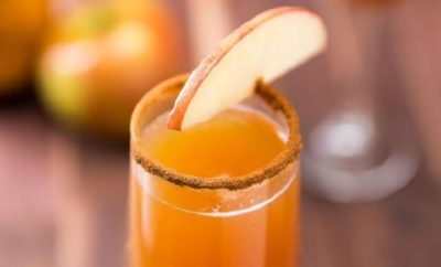 An Apple Cider Mimosa is What Fall in Texas is All About