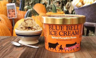 Blue Bell Rings True With Spiced Pumpkin Pecan Ice Cream