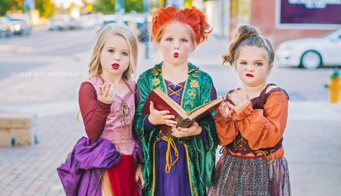 Texas Sisters Slay as 'Hocus Pocus' Characters for Halloween