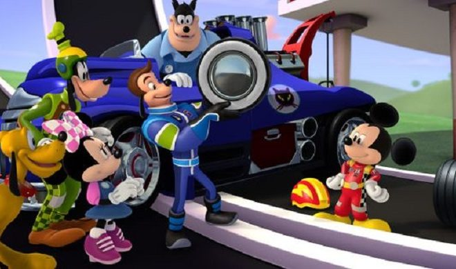 Disney Welcomes NASCAR Drivers as 'Roadster Racers'