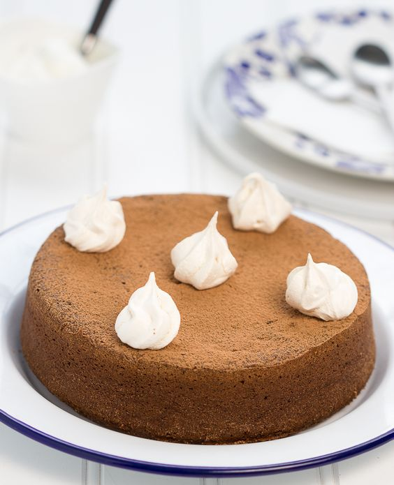 Chocolate Mocha Buckwheat Cake