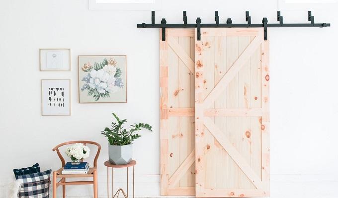 DIY Barn Door Hardware Kits are on Amazon & Folks Can't Get
