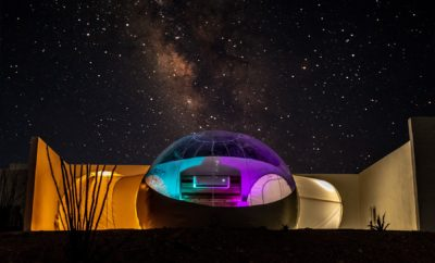 Bubble Hotel Makes a Great Debut in West Texas Town of Terlingua