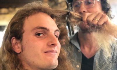 Longhorns DE Breckyn Hager Get Long-Awaited Haircut from Matthew McConaughey