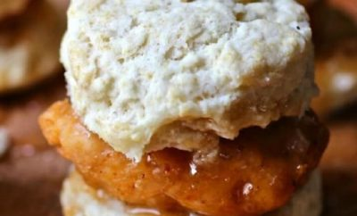 Texas Chicken & Biscuit Sliders With Chipotle Honey Butter