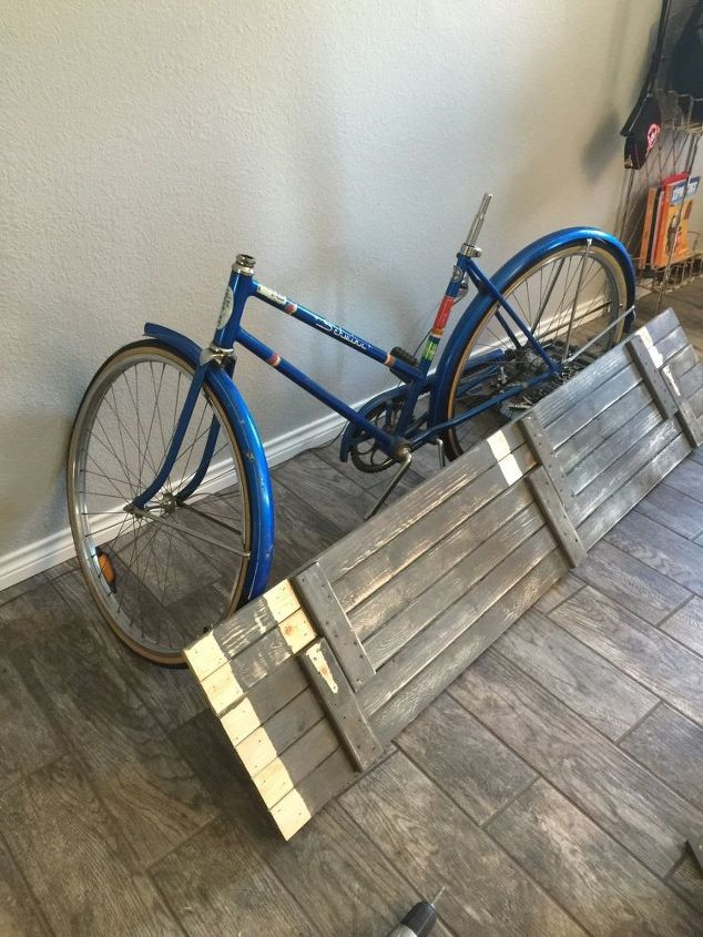Transform A Quirky Old Bicycle Into A Diy Sideboard