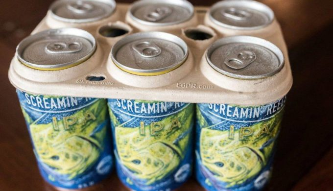 Brewery Unveils New 6-Pack Ring That Feeds Sea Turtles