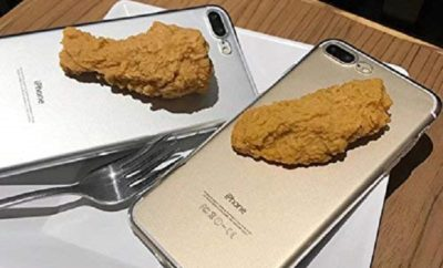 This Phone Case has a Realistic Fried Chicken Grip
