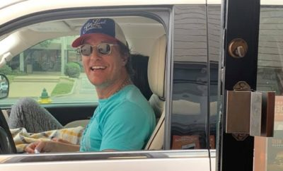 Matthew McConaughey Visits San Angelo Whataburger
